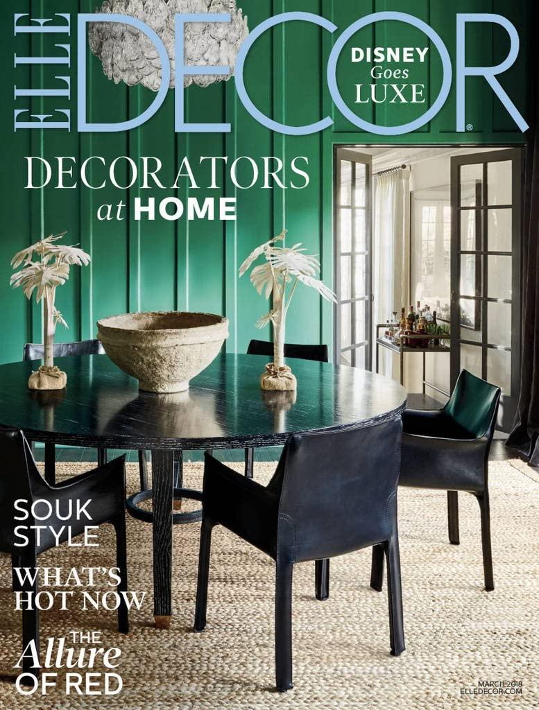 Elle decor interior design magazines