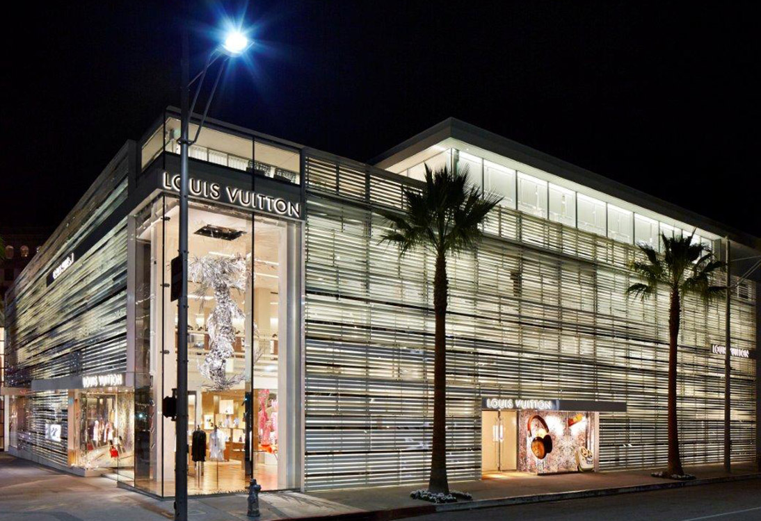 Peter Marino showroom design