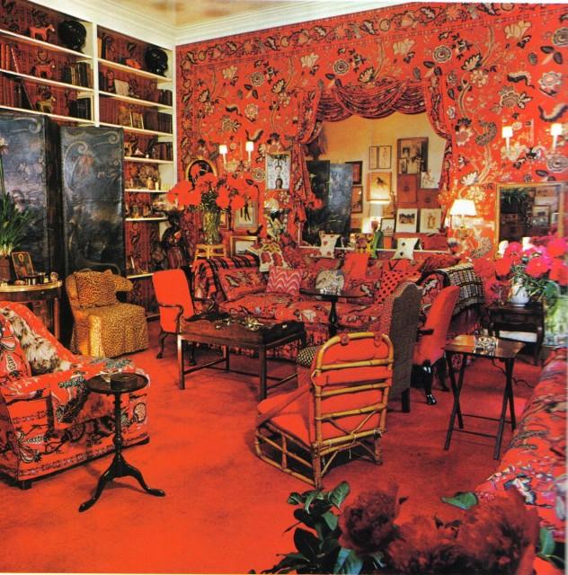 interior design of Billy Baldwin