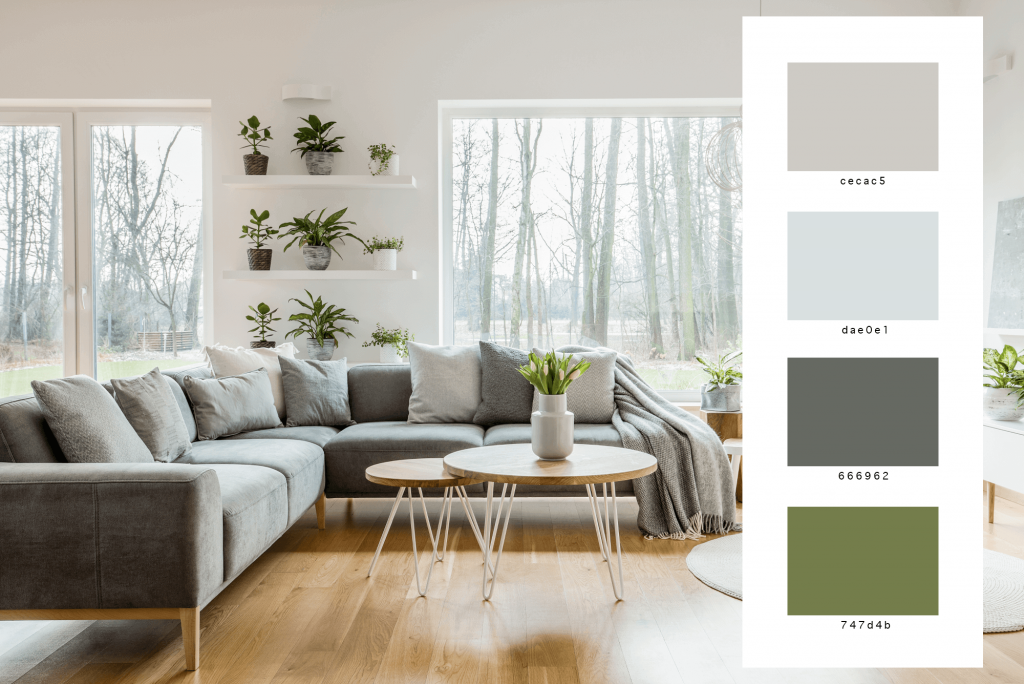 modern interior design color palette