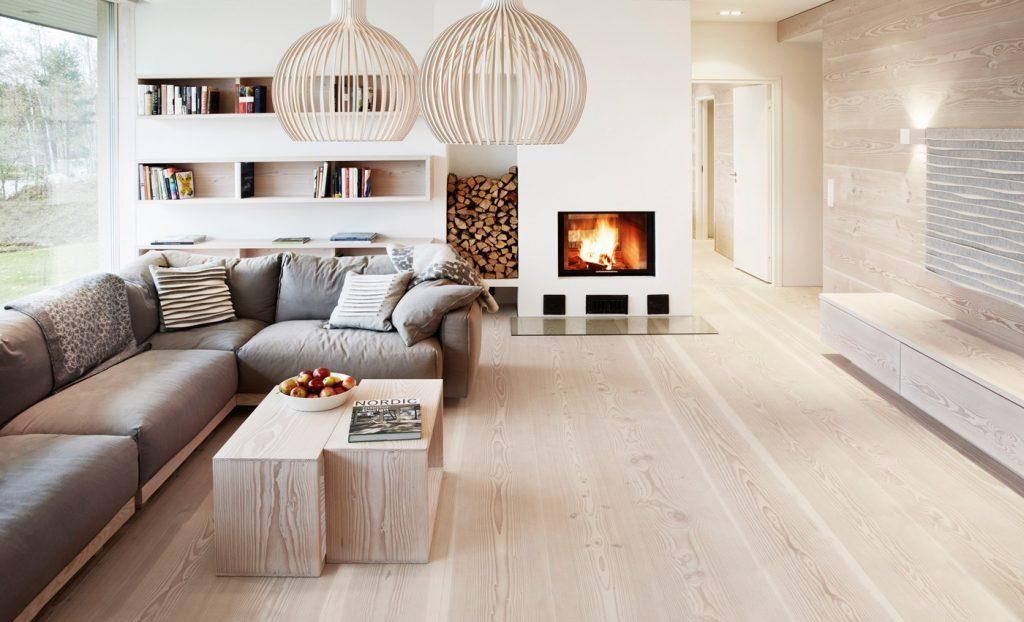 modern interior design flooring