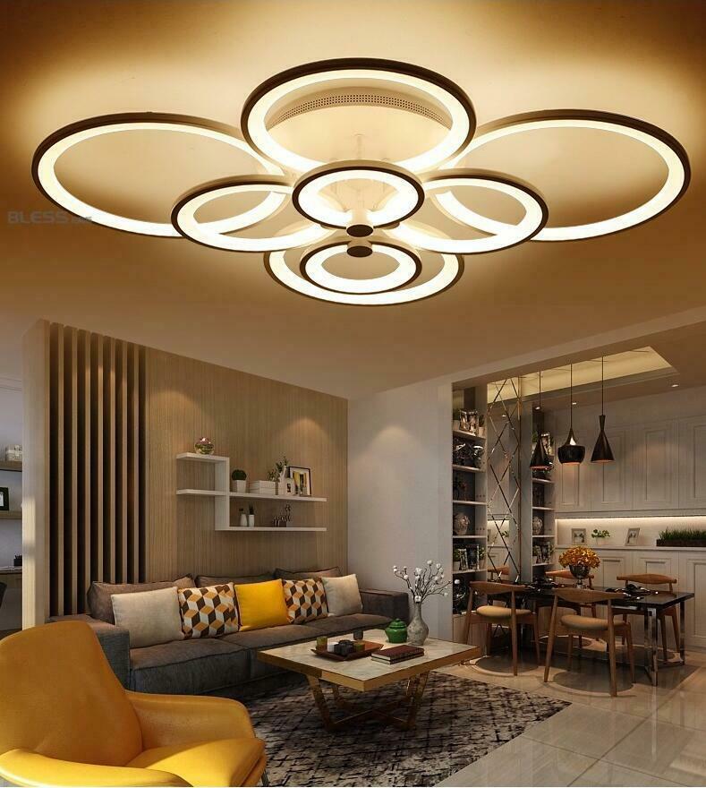 modern interior design lighting
