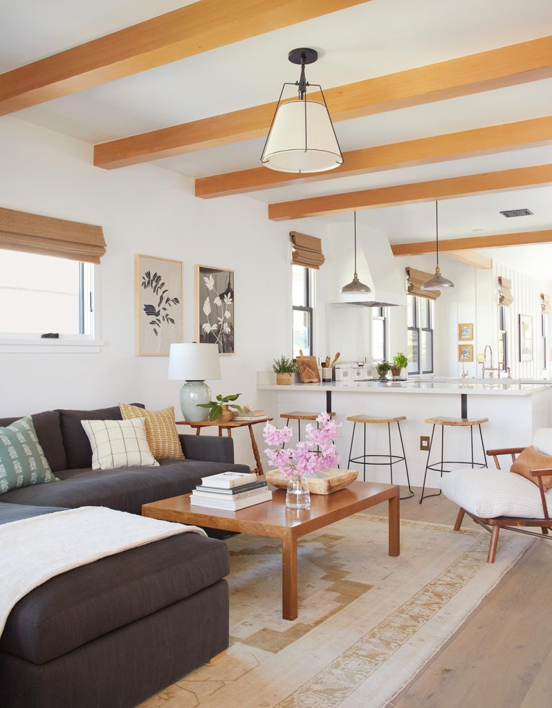 modern interior design open floor plan