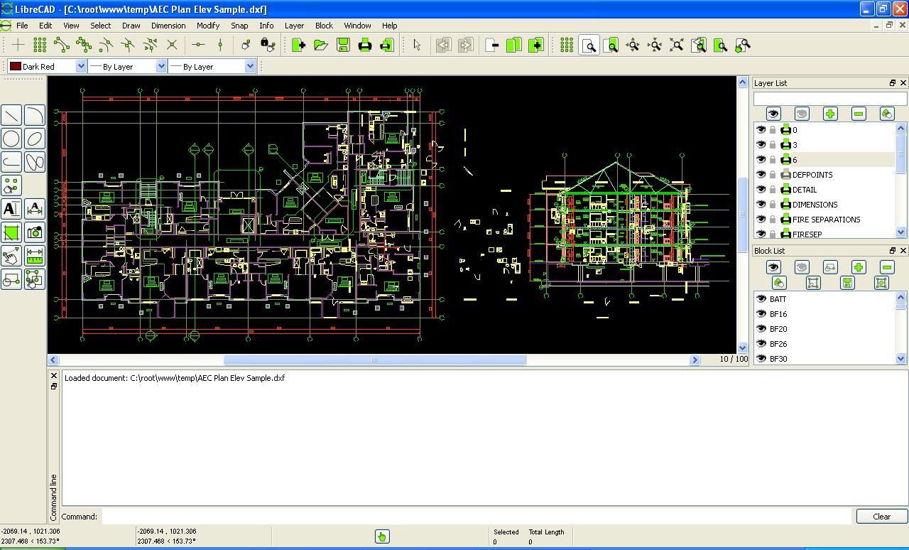 Libre CAD Software
