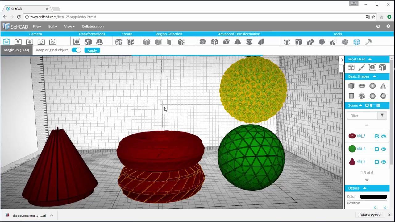 Self CAD 3D Software
