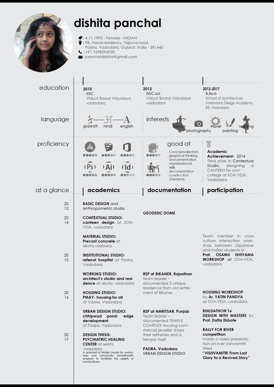 architecture resume sample 5