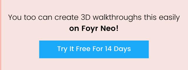 create easy 3d walkthroughs
