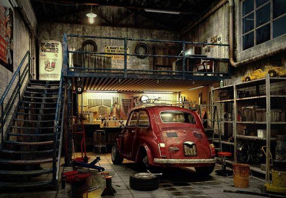 Mechanic Garage Ideas