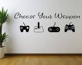 Wallpaper Designs for Gaming Room