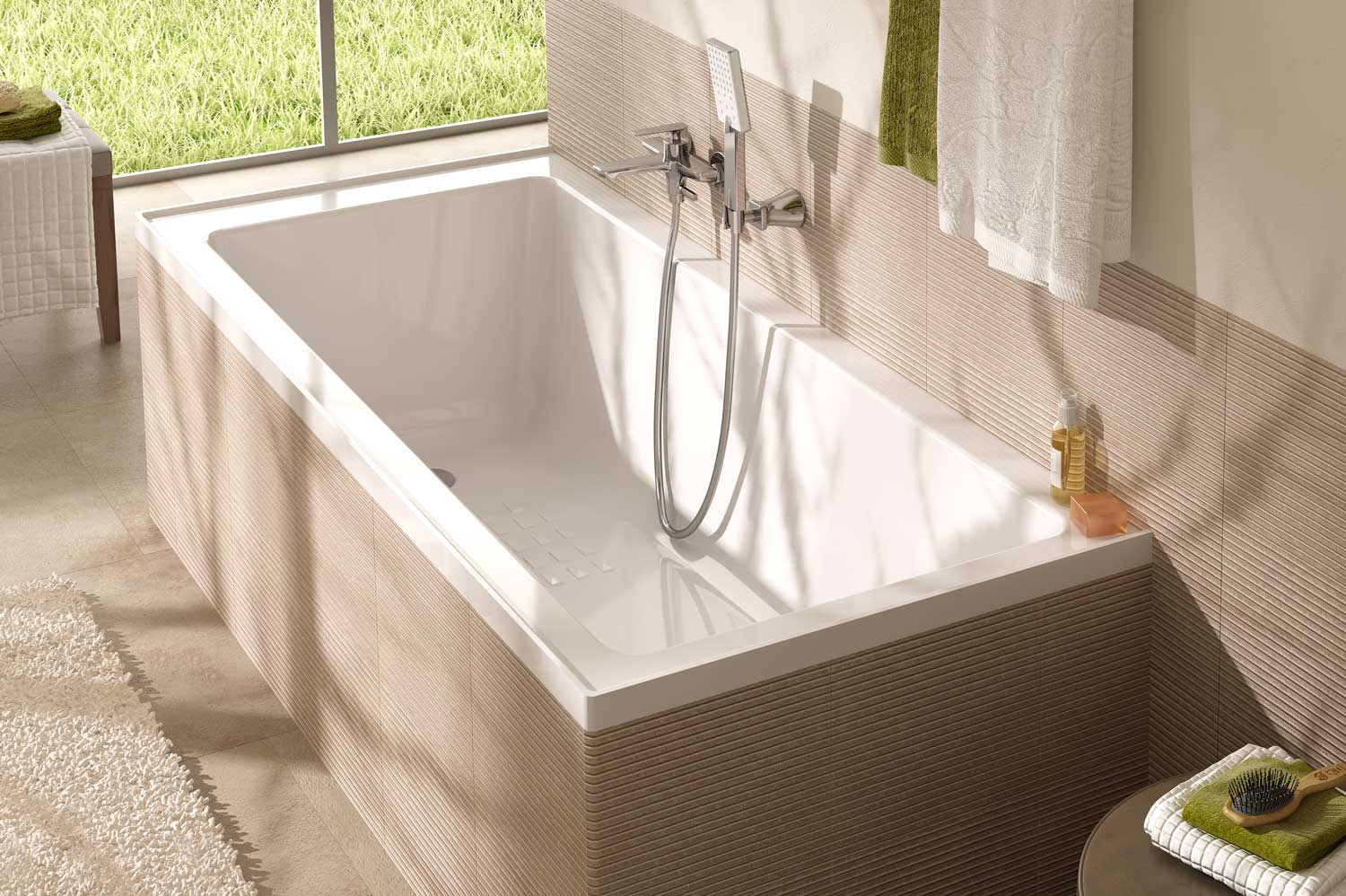 inset bathtub dimensions