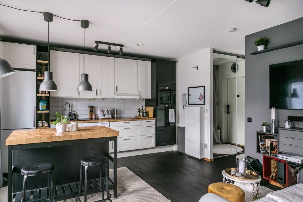 kitchen floor space