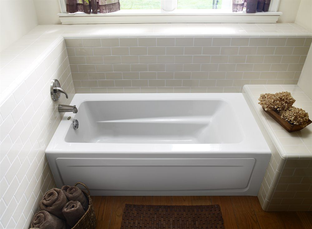 skirted bathtub dimensions