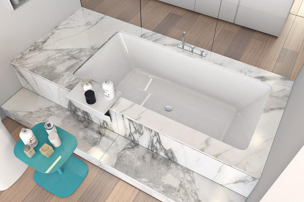 undermount bathtub dimensions