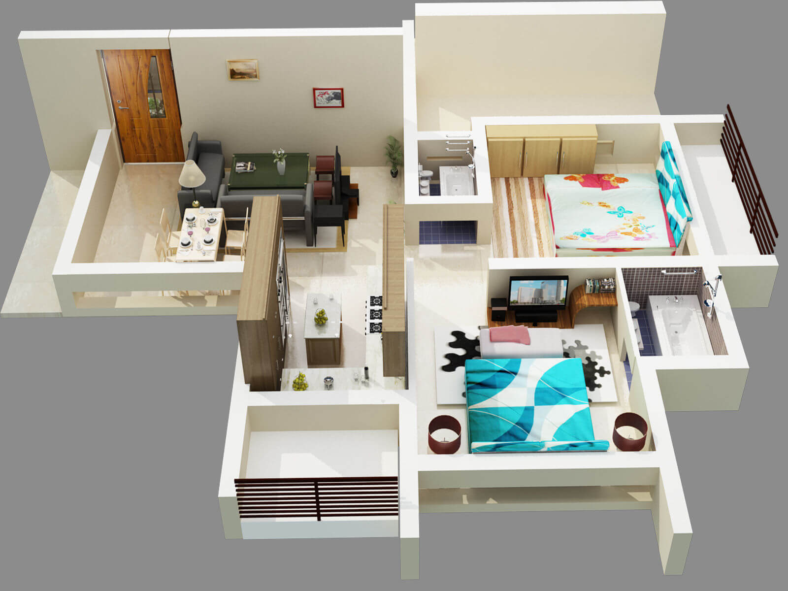 How To Visualize Floor Plans Better Create Beautiful 3d Designs
