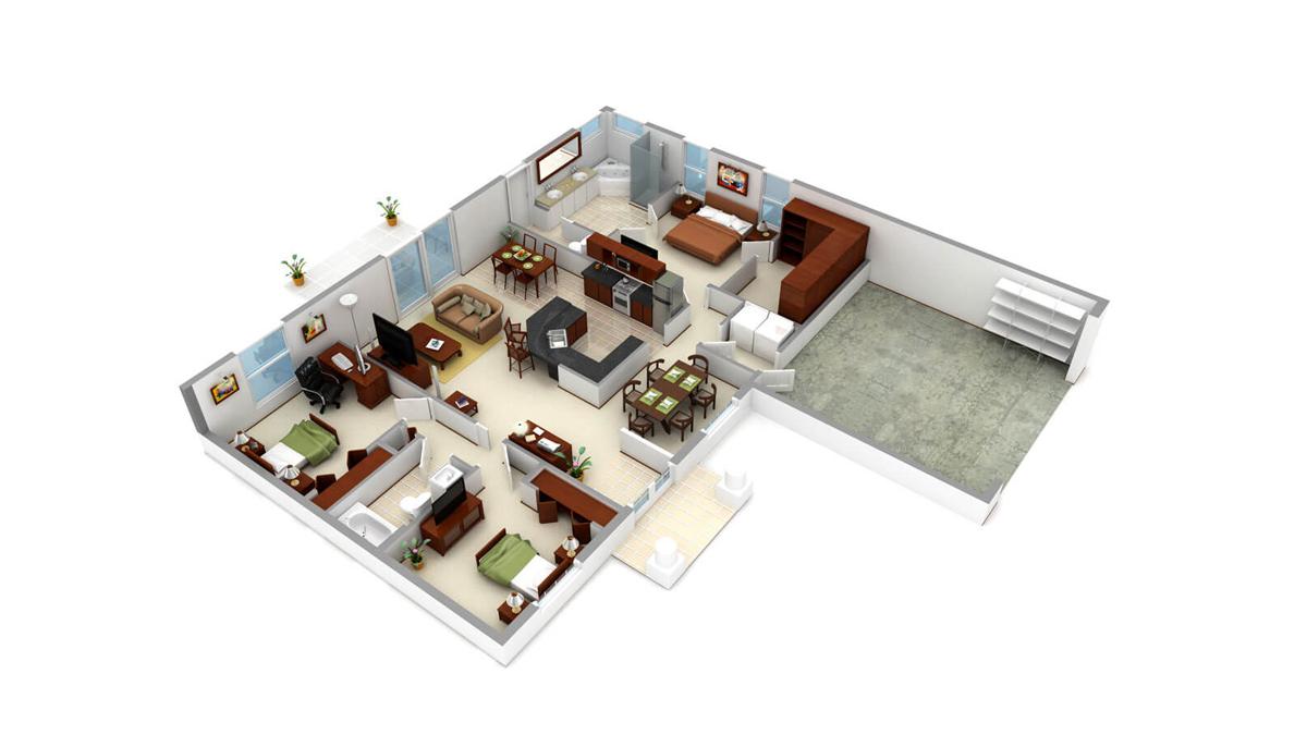 5 Best Layout Tips For Studio Apartment Floor Plans Foyr