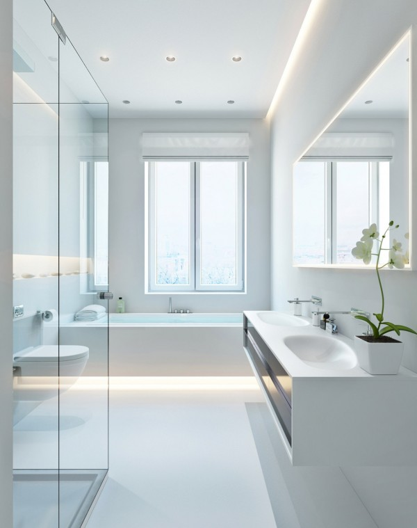 ambient lighting for bathroom