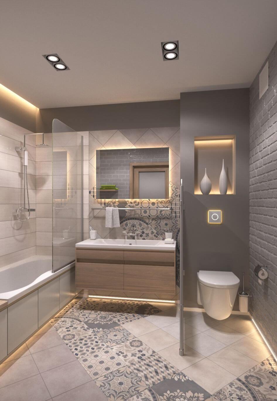 Modern Bathrooms and Lighting Ideas