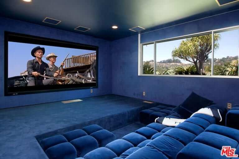 Relaxing Home Theatre Ideas