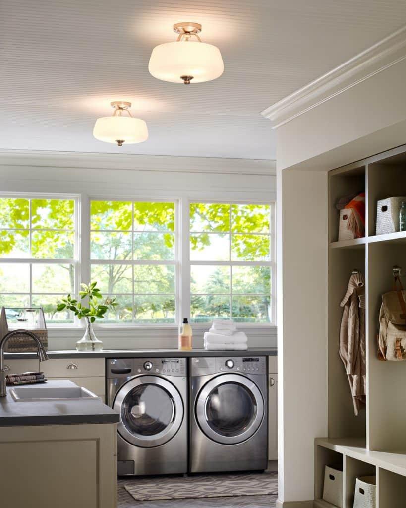 laundry room lighting ideas
