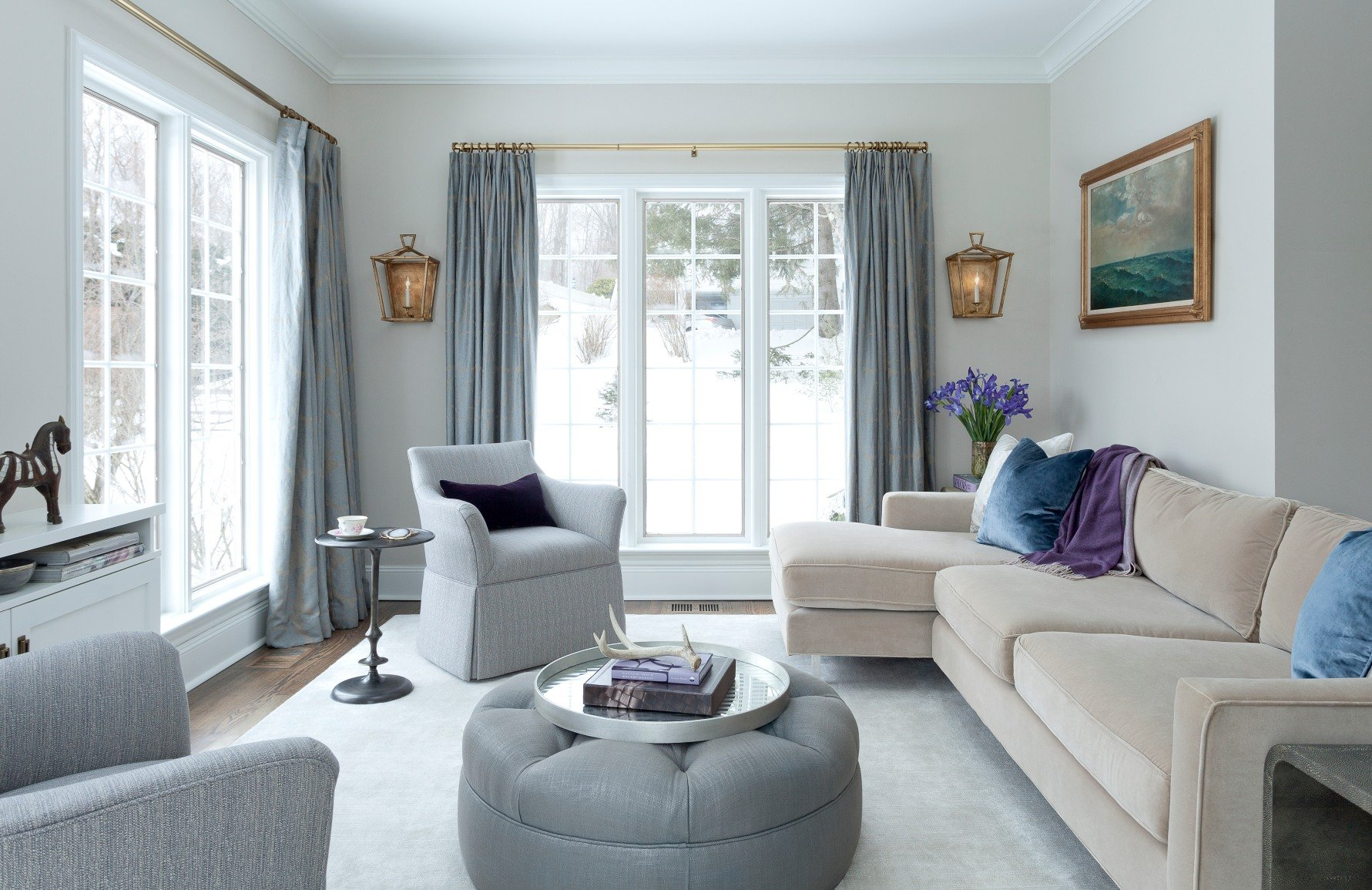 seating arrangement for small living room