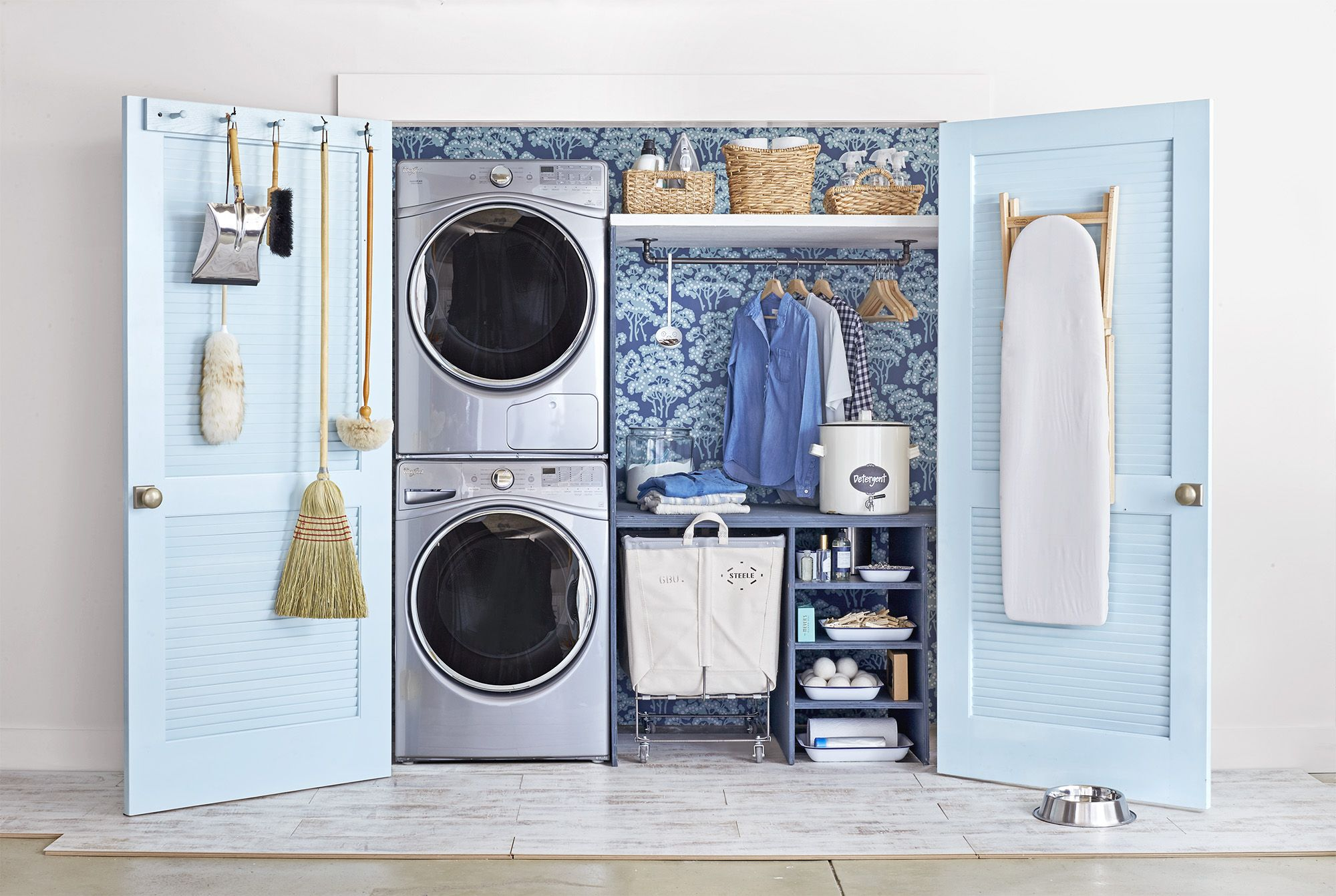 space for laundry room
