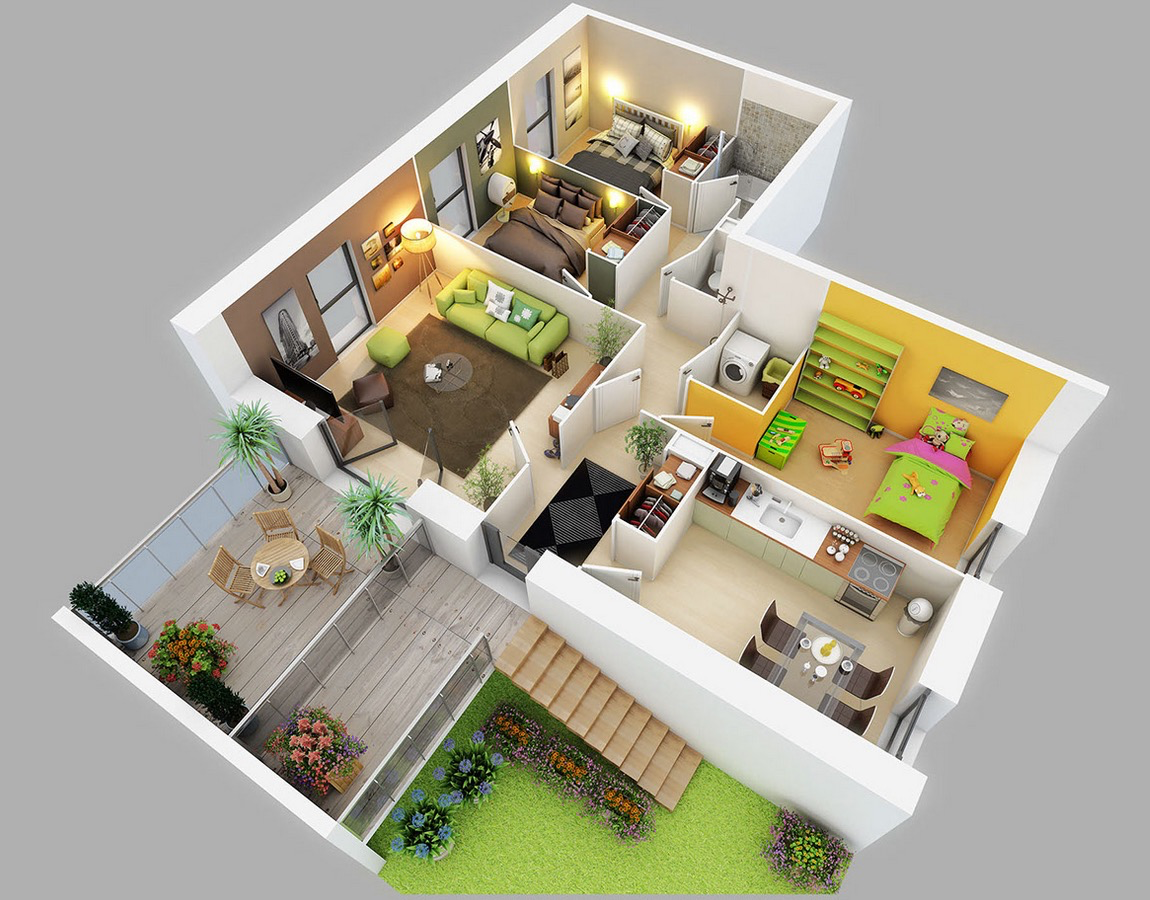 Studio Apartment Floor plans and Layout Tips - Create ...