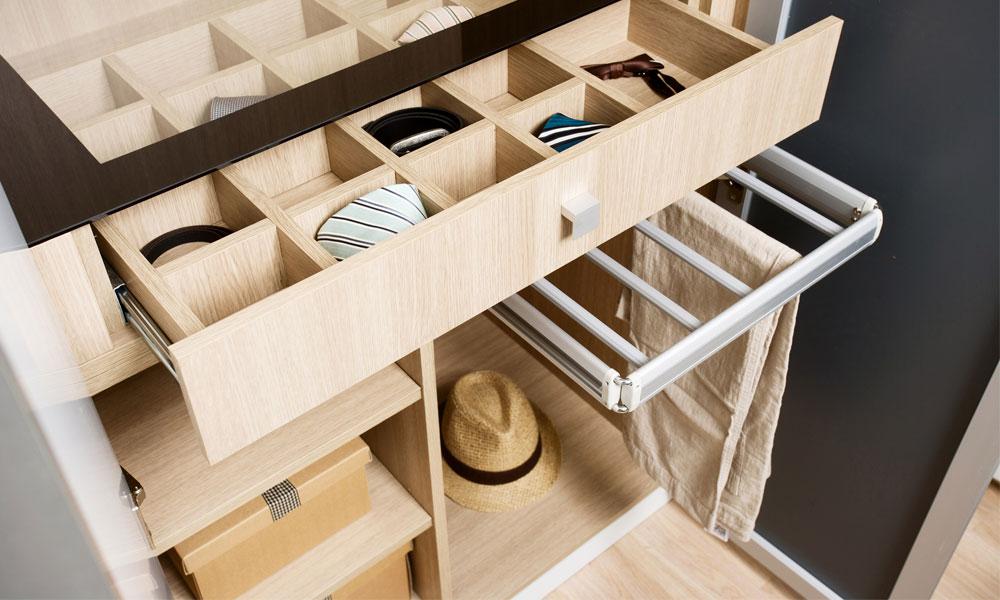 wardrobe design with storage function