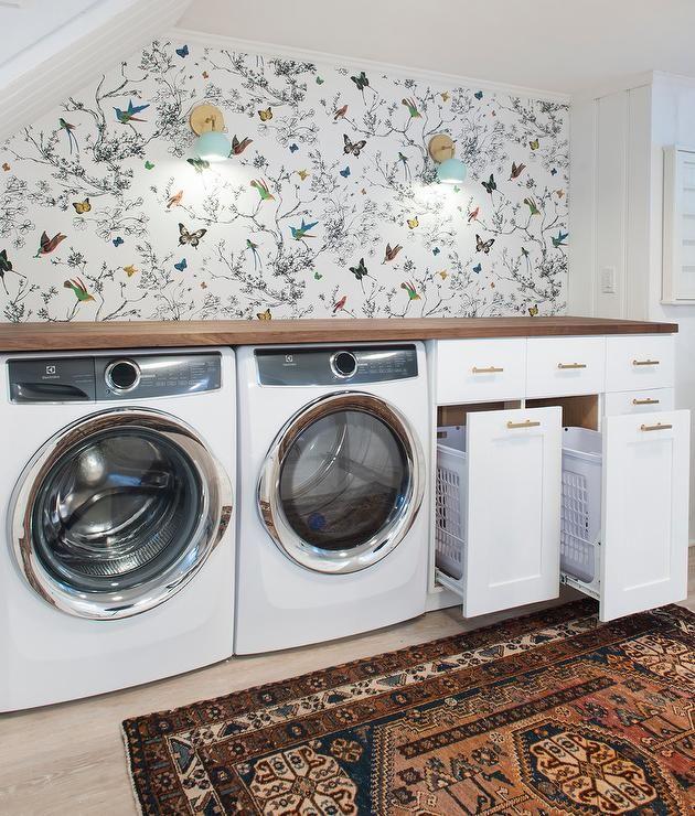 whimsical laundry room decorating ideas
