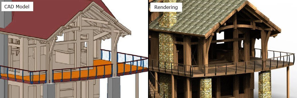 Difference between 3D Modeling and 3D Rendering