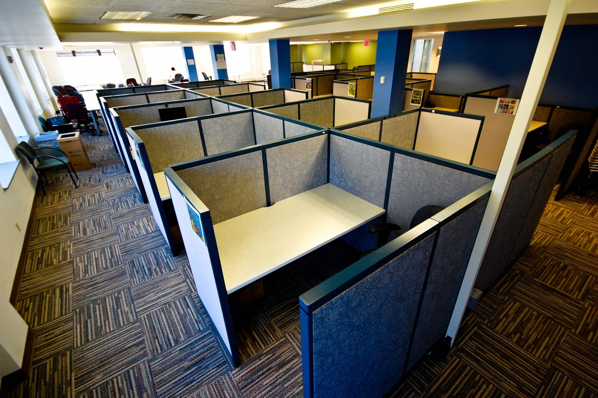 Cubic partition design