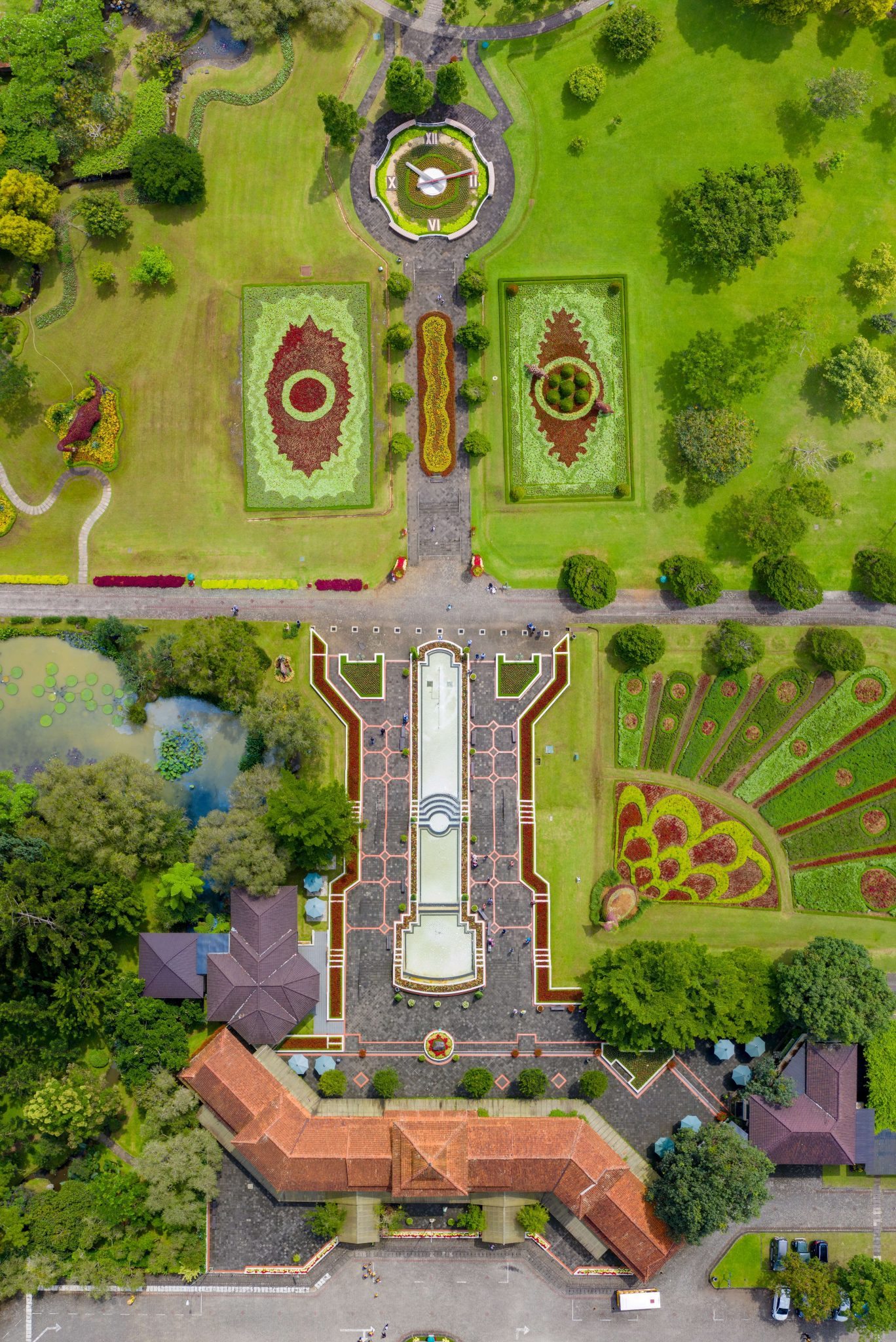 Aerial view of Landscape Architecture