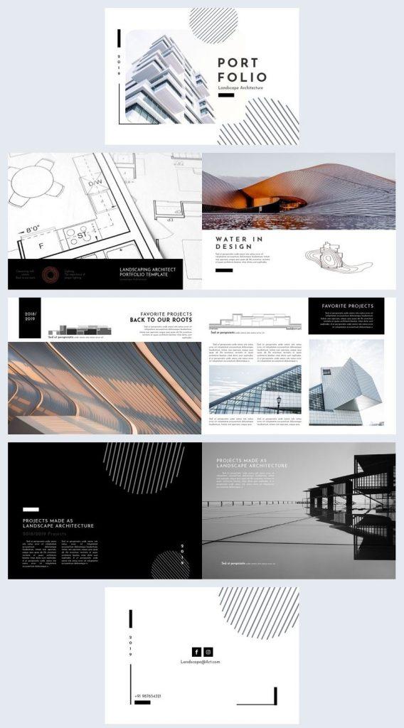 architecture portfolio design 2