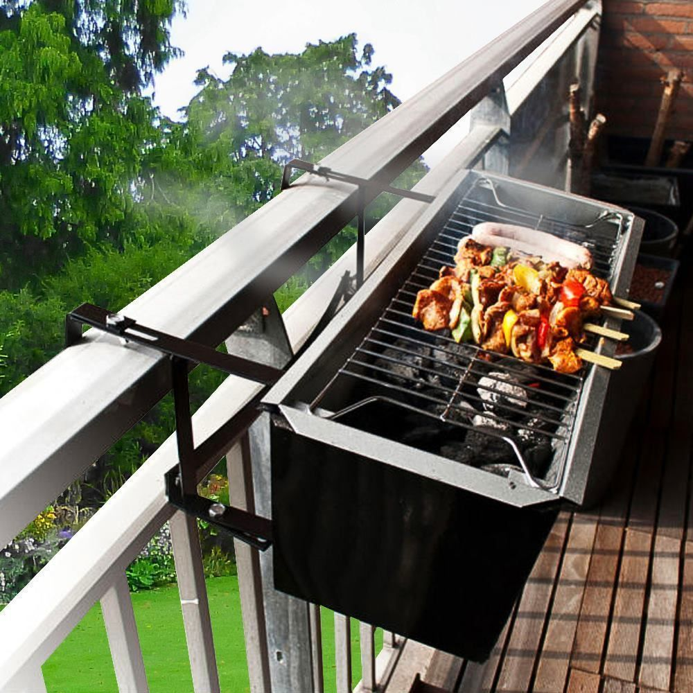 balcony design with grill