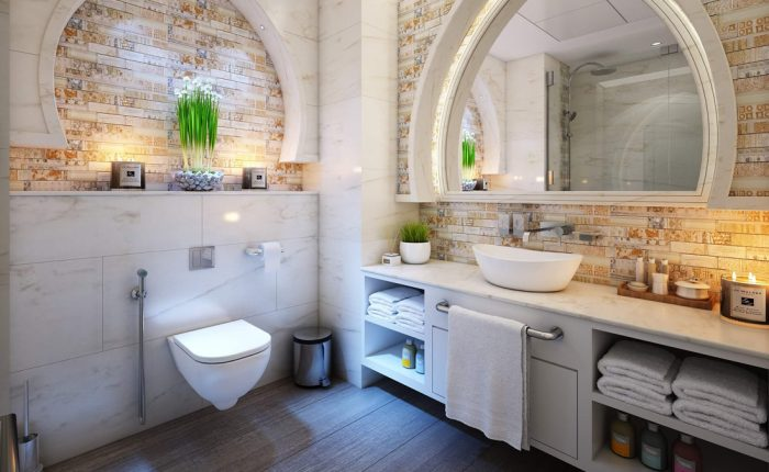 Stylish Small Bathroom