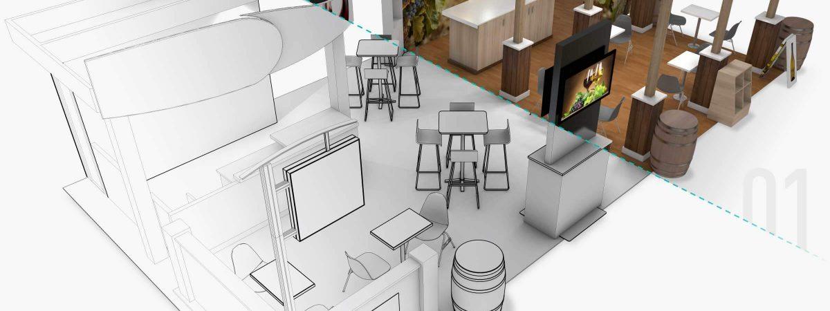 3d modeling vs 3d rendering