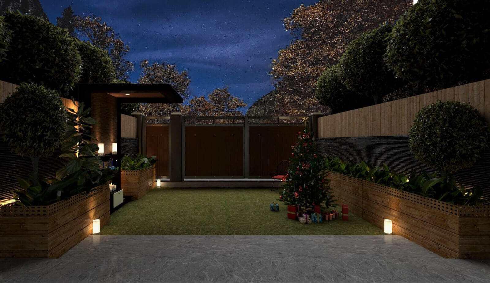 exterior room design