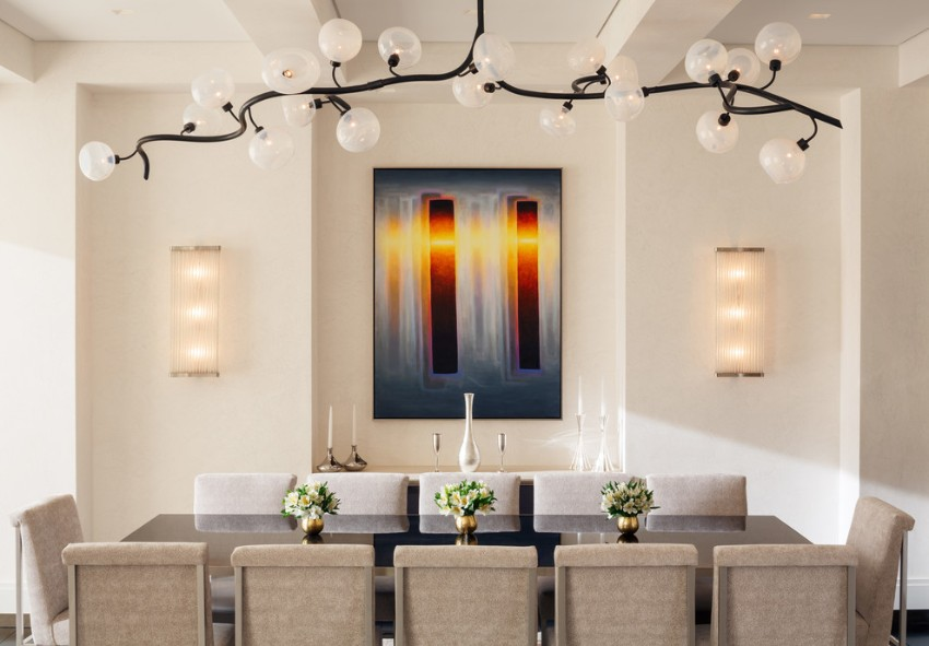 lighting and sconces for dining room