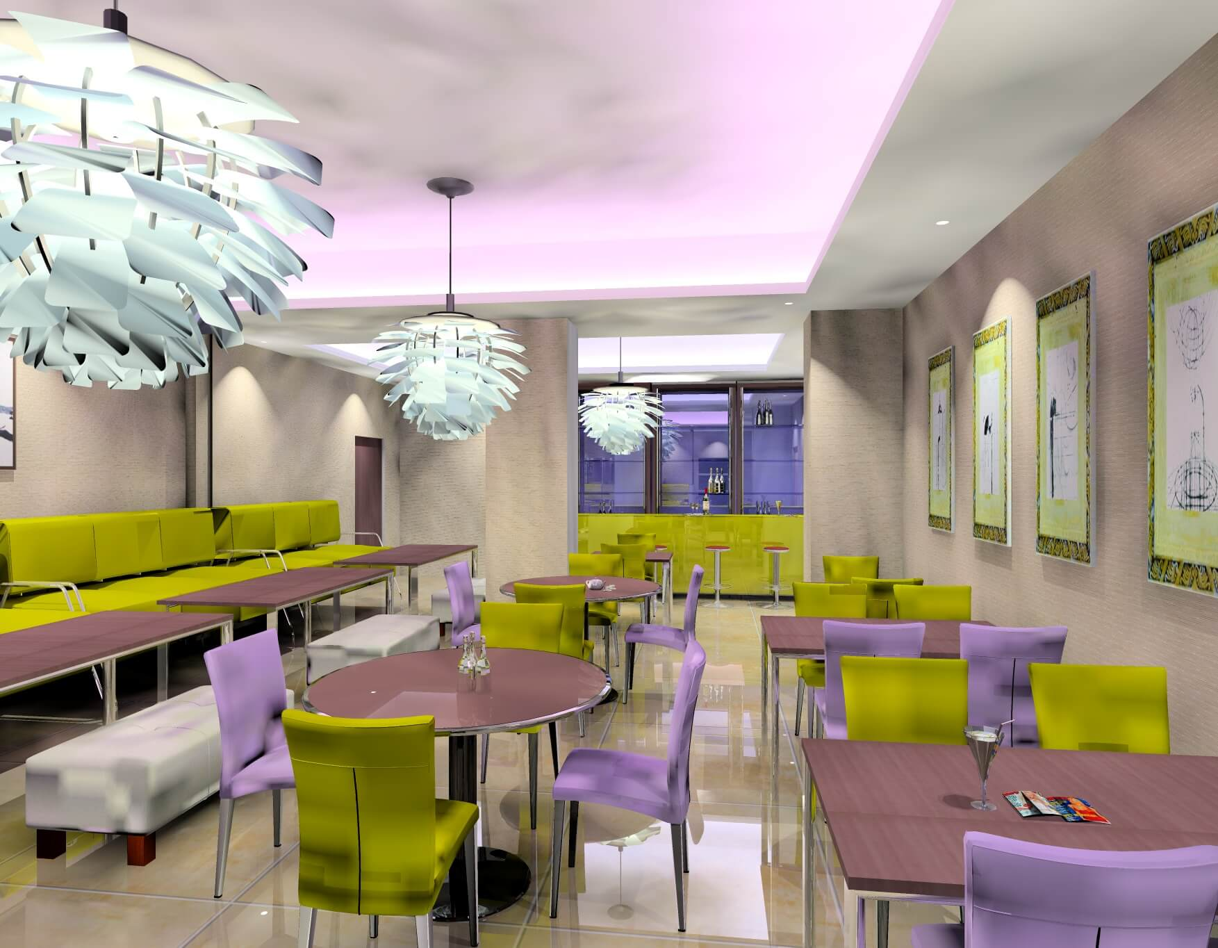 Colourful Ideas for Commercial Interior design