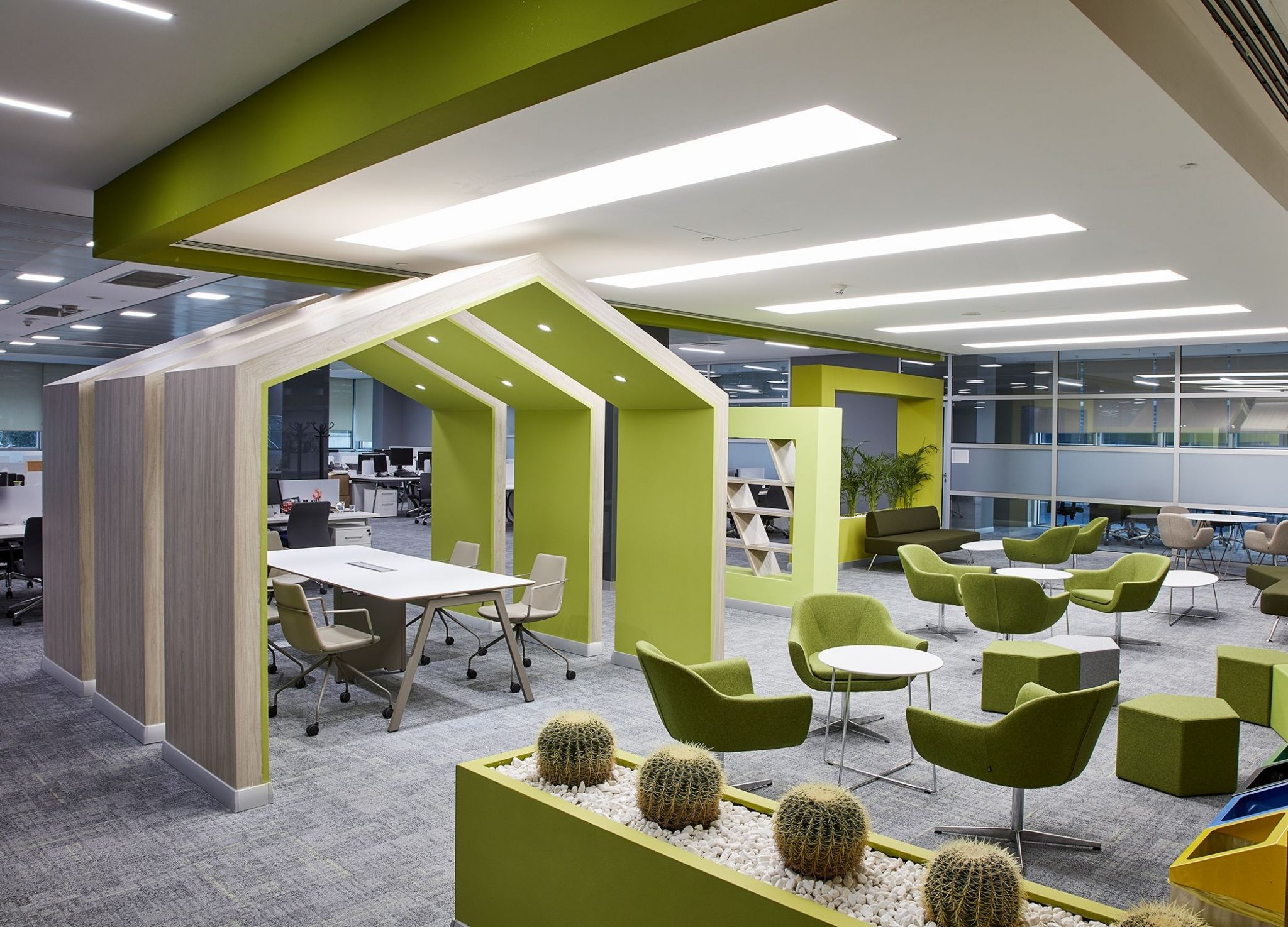 shapes and design for office interior
