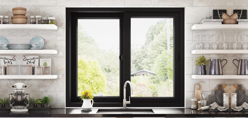 sliding door for small house design