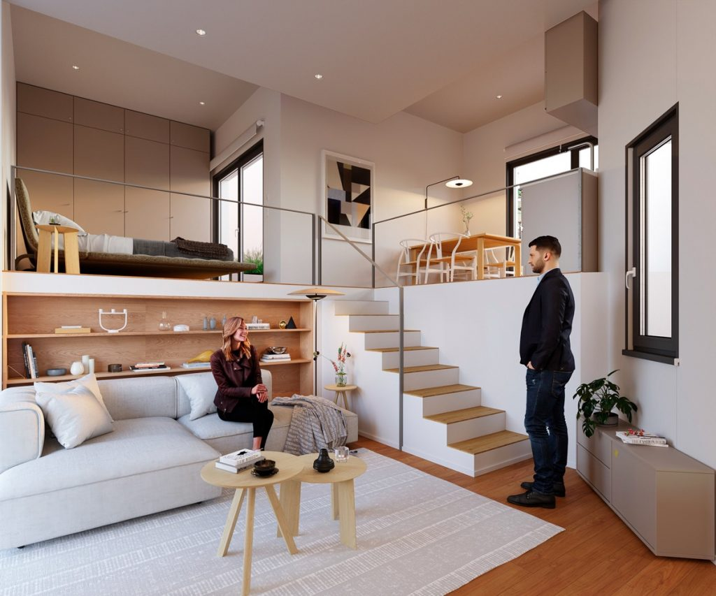 10 Small House Design Ideas To Beautify Your Tiny Home In 2021 Foyr