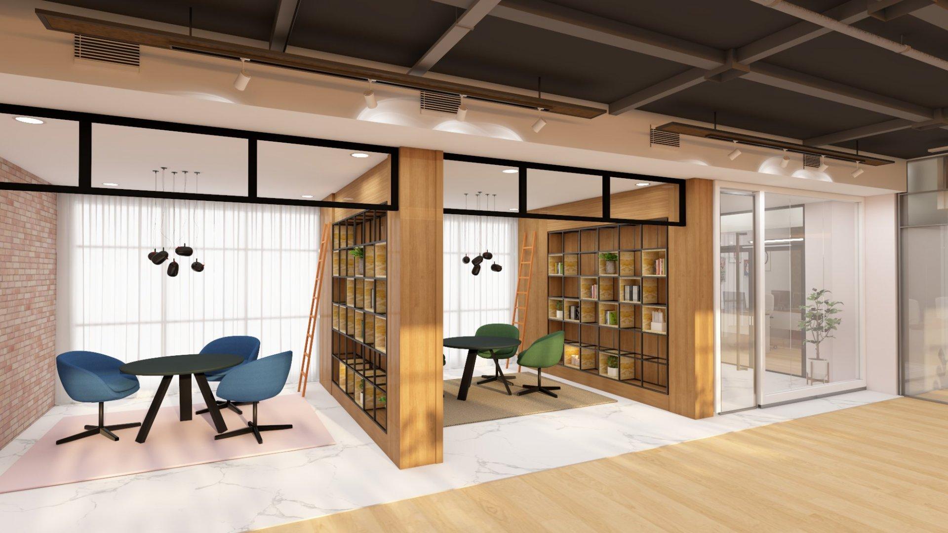 storage design element for office