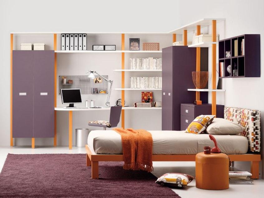 storage space for teen bedroom