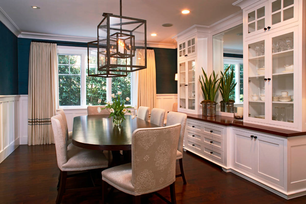 storage with dining room