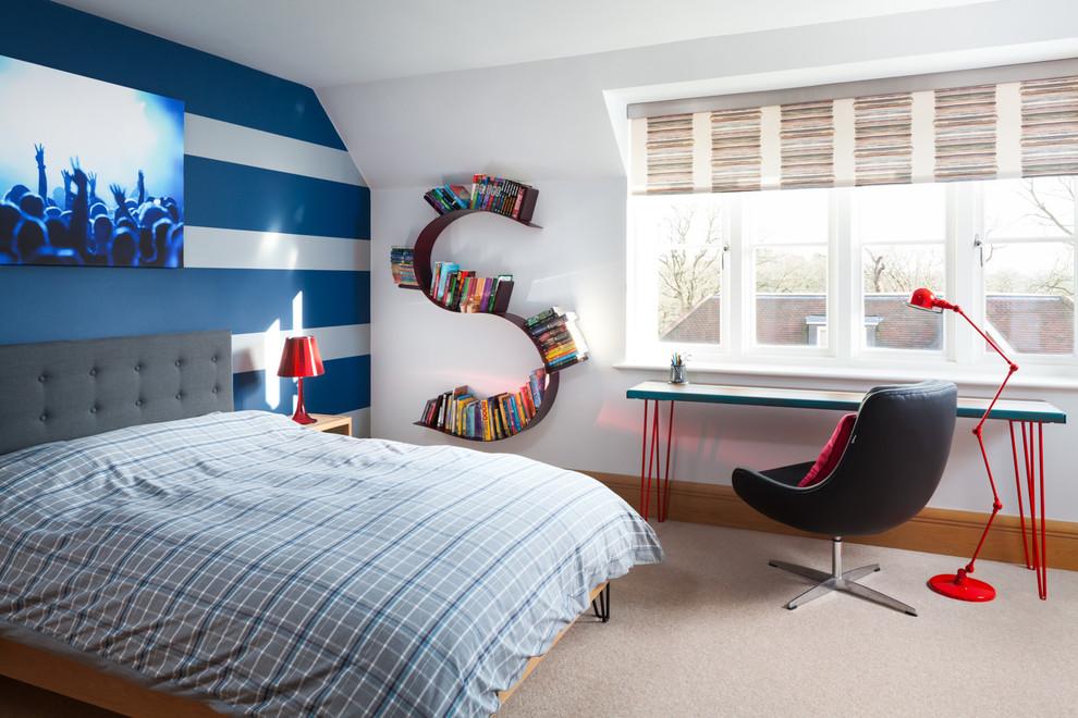 teen bedroom wall design
