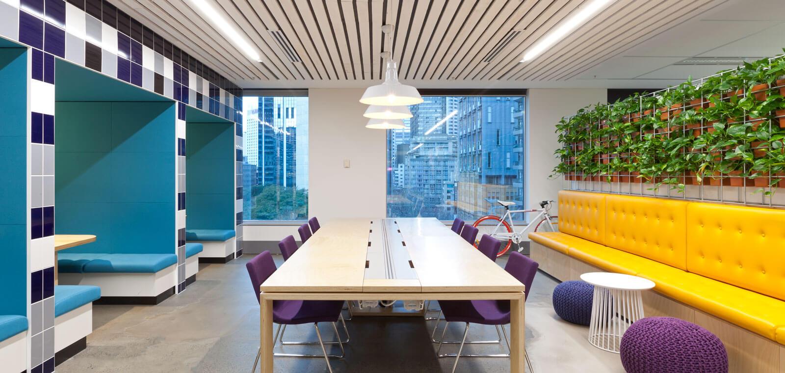 Commercial spaces Interior designing