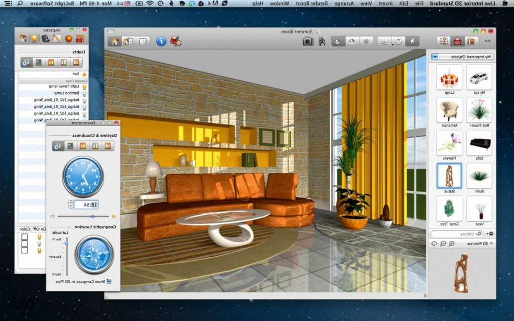 Best free interior designing software create beautiful - Interior design software mac ...