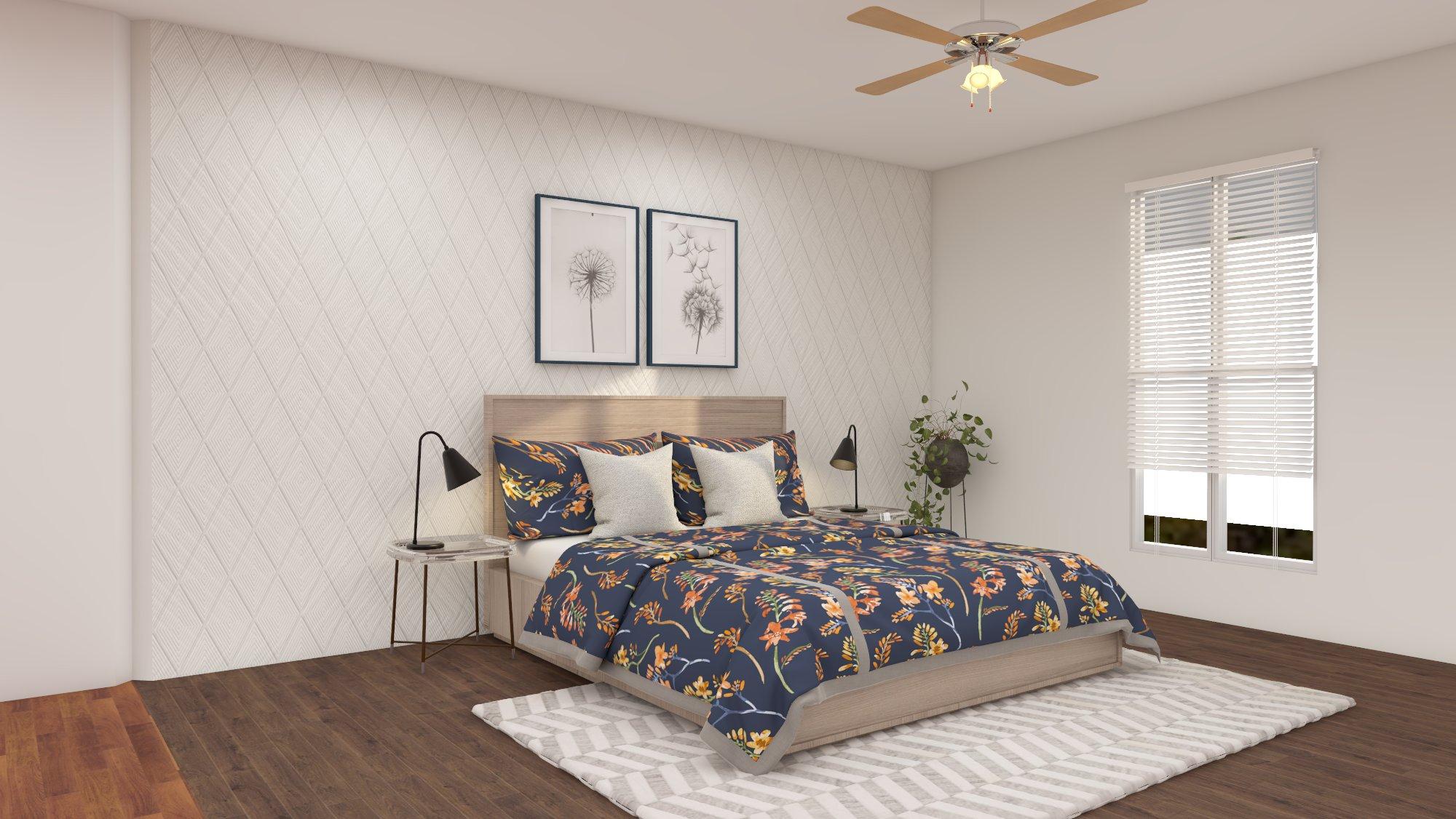 room design created on Foyr