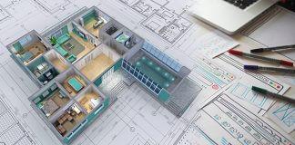 3d image of a floor plan
