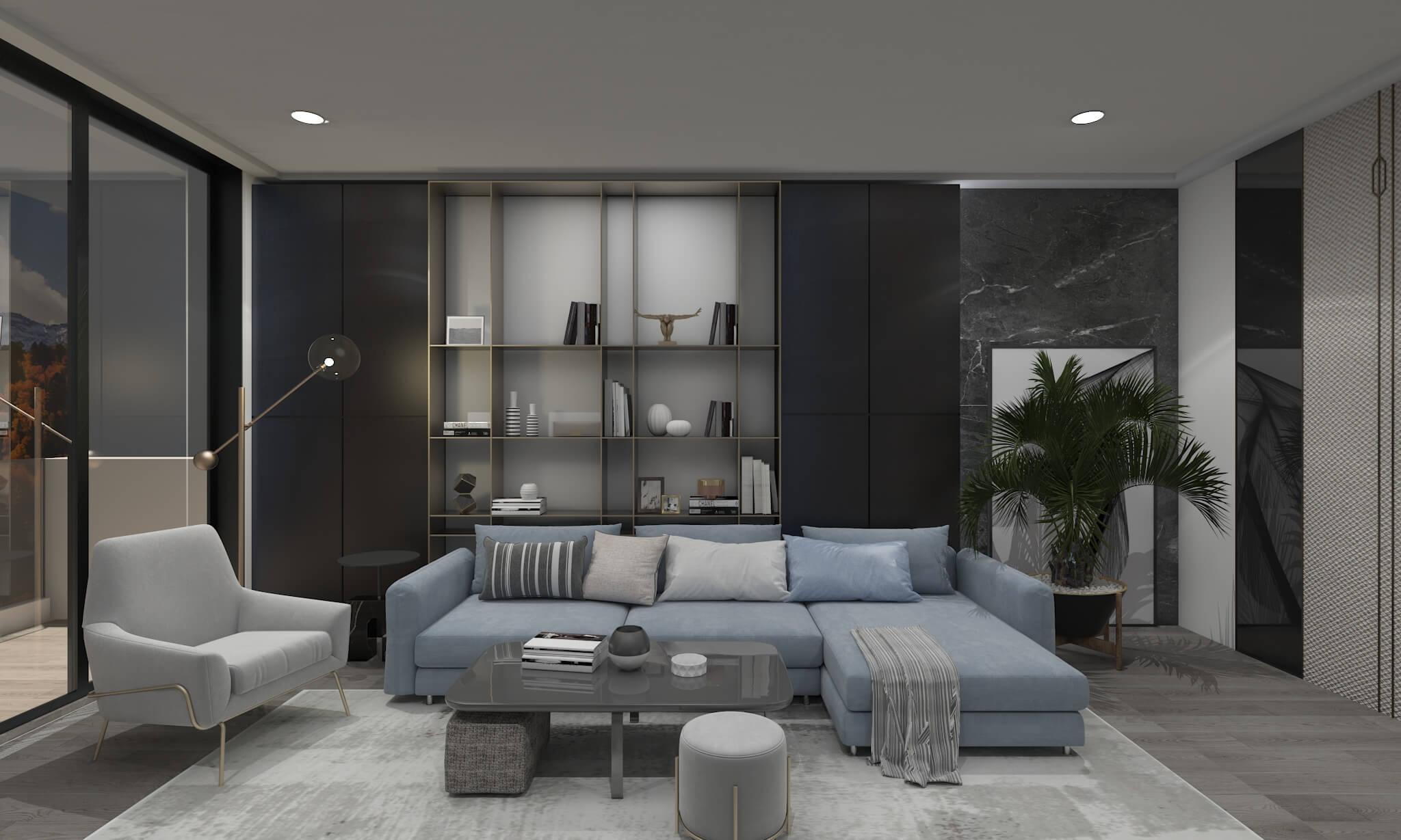 contemporary interior design - multi functional furniture